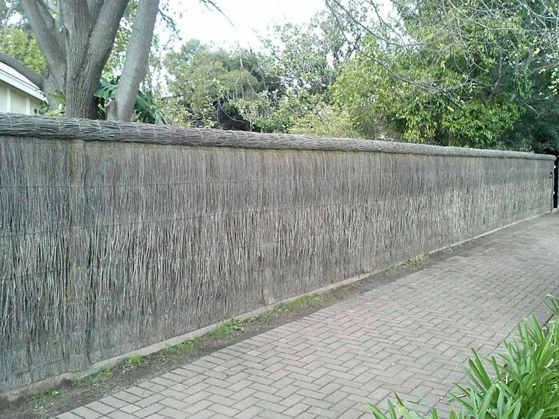 Brush Fencing